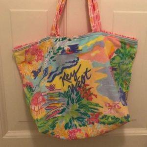 🆕 Lilly Pulitzer Destination Tote Key West